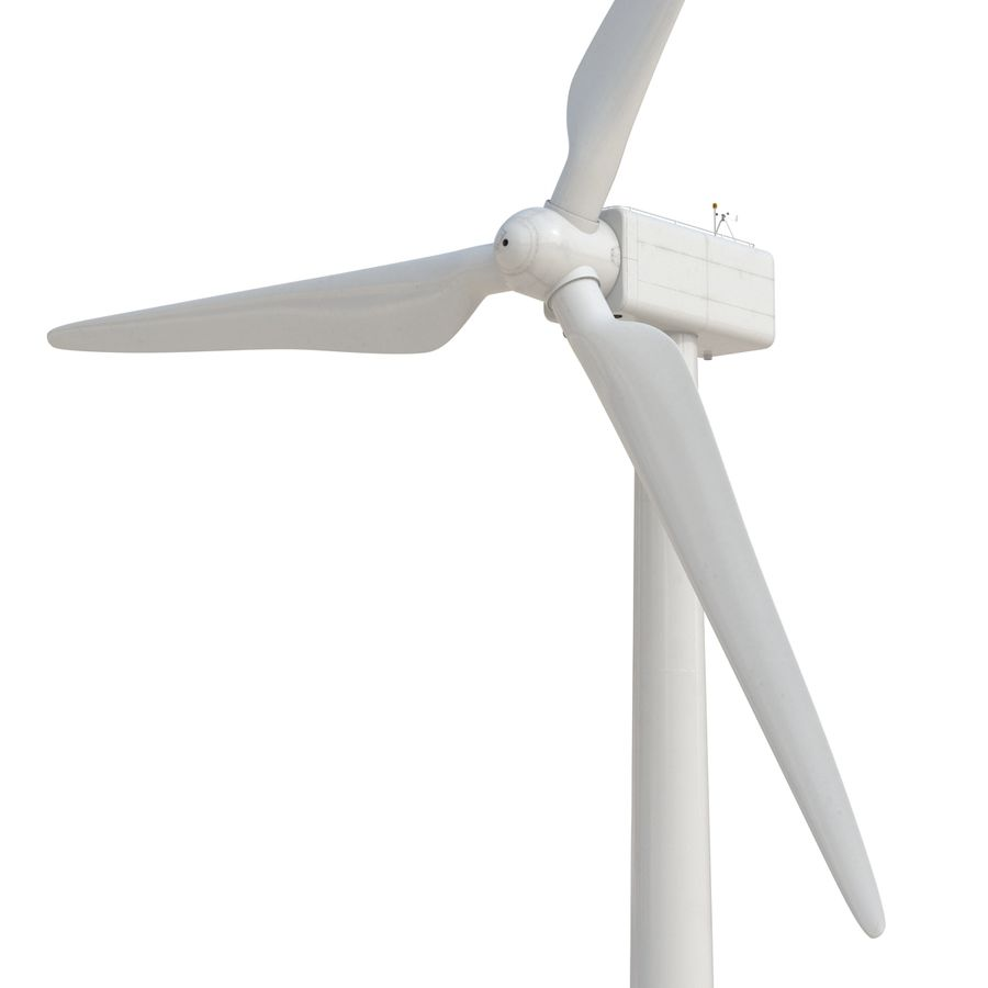 Generic Wind Turbine royalty-free 3d model - Preview no. 13