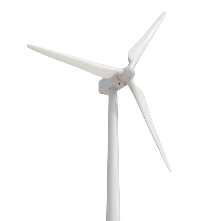 Generic Wind Turbine royalty-free 3d model - Preview no. 2