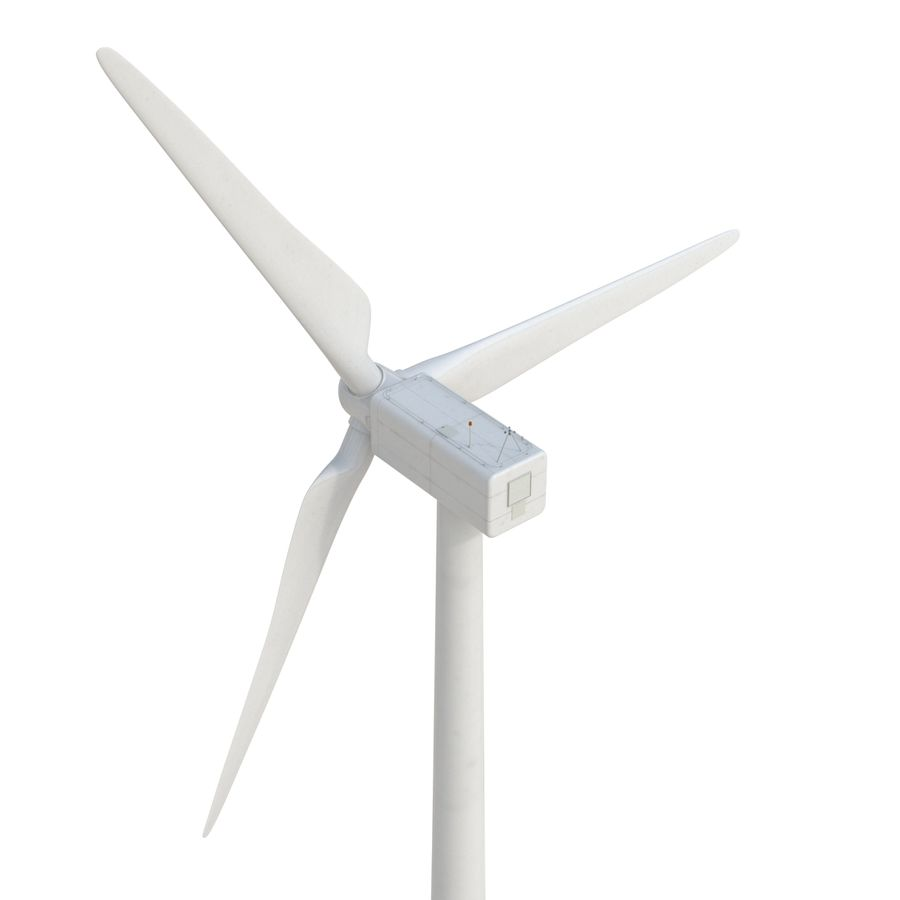 Generic Wind Turbine royalty-free 3d model - Preview no. 12