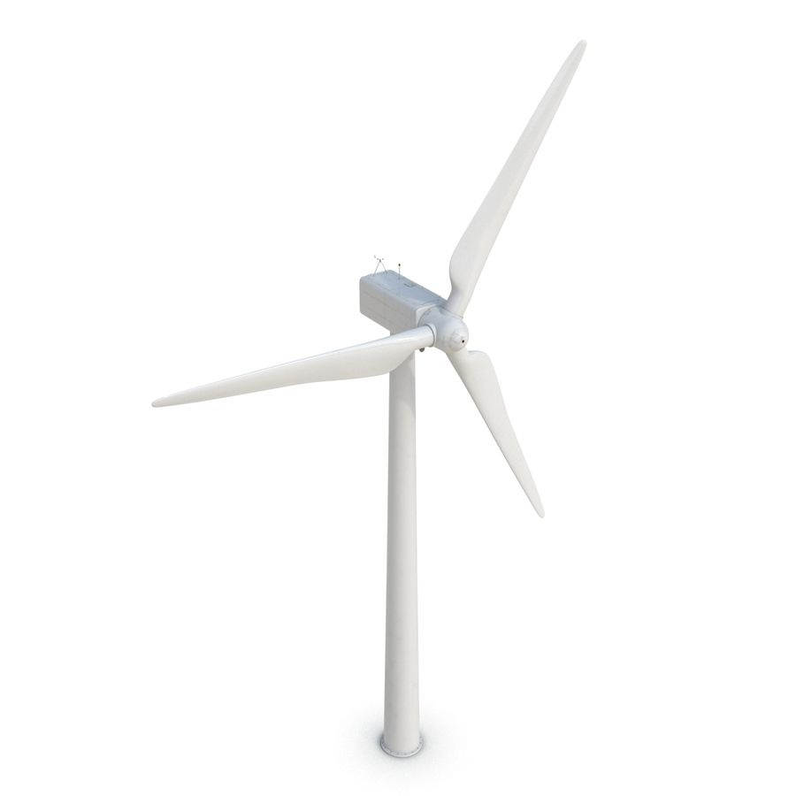 Generic Wind Turbine royalty-free 3d model - Preview no. 9