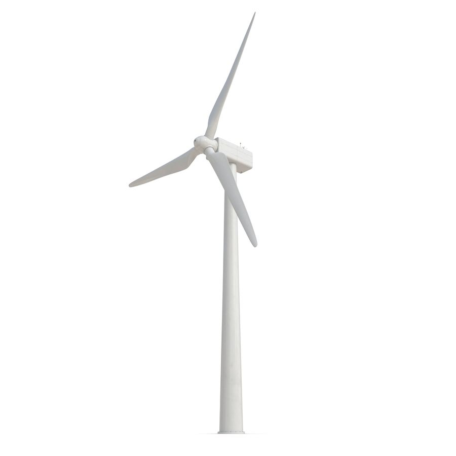 Generic Wind Turbine royalty-free 3d model - Preview no. 8