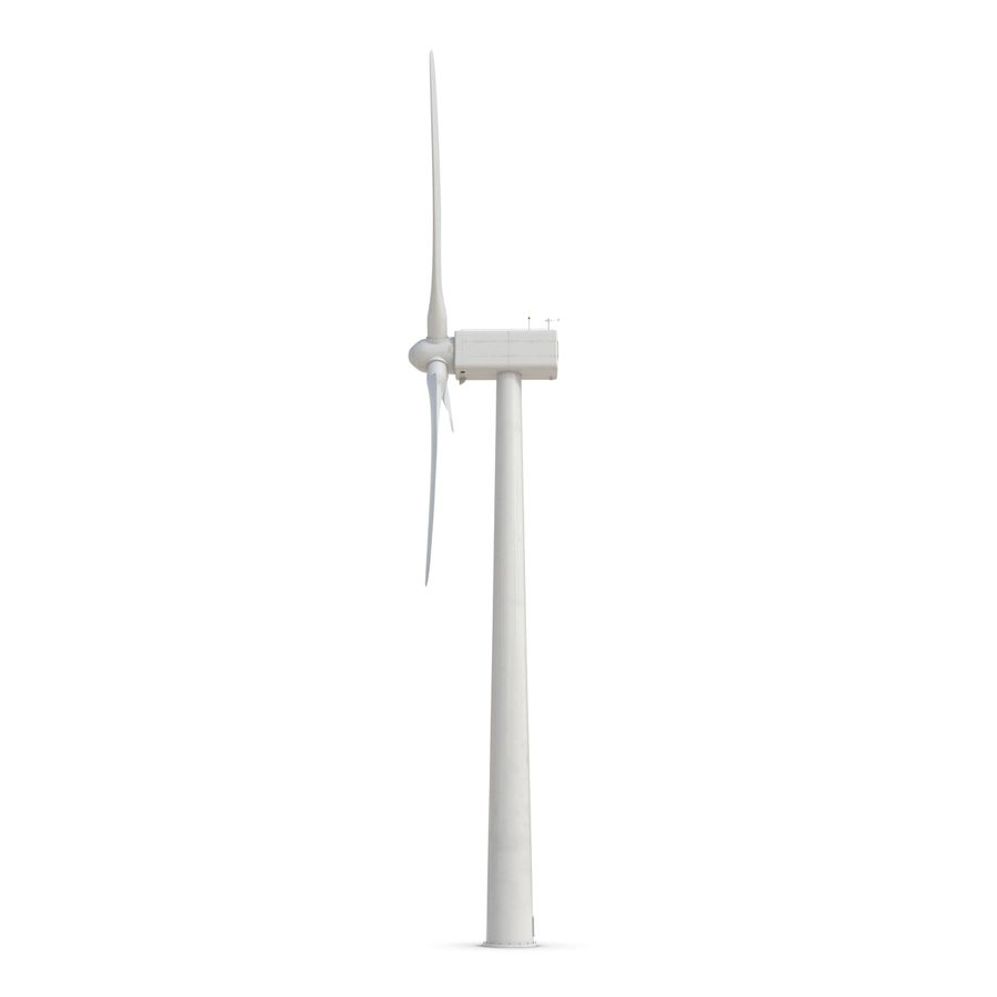 Generic Wind Turbine royalty-free 3d model - Preview no. 7