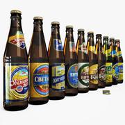 啤酒俄罗斯 3d model