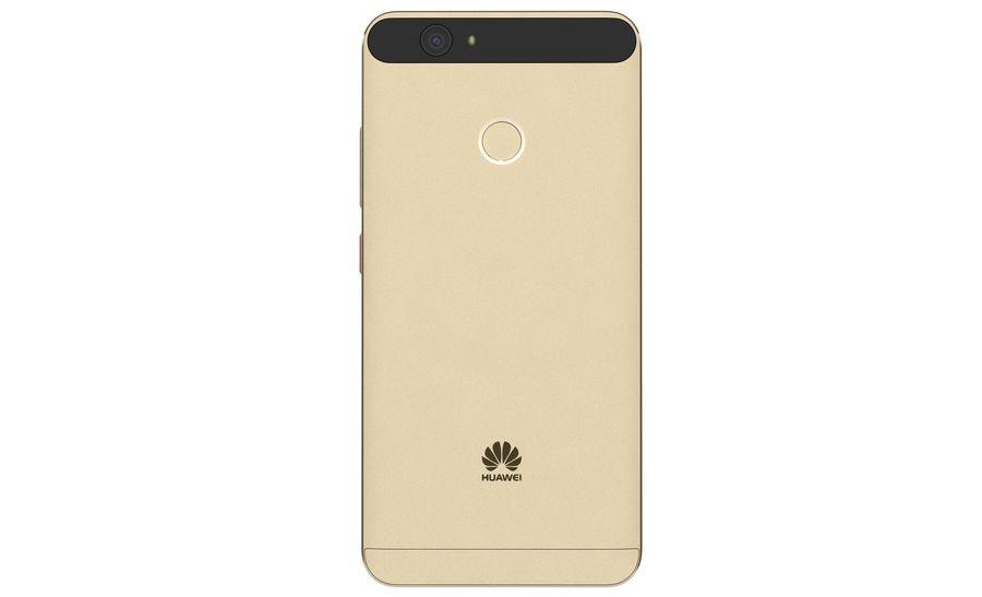 Huawei Nova Prestige Gold royalty-free 3d model - Preview no. 11