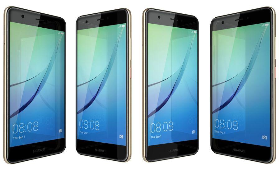 Huawei Nova Prestige Gold royalty-free 3d model - Preview no. 5