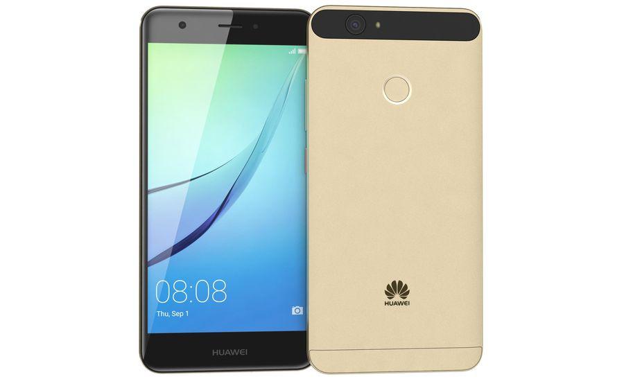 Huawei Nova Prestige Gold royalty-free 3d model - Preview no. 9
