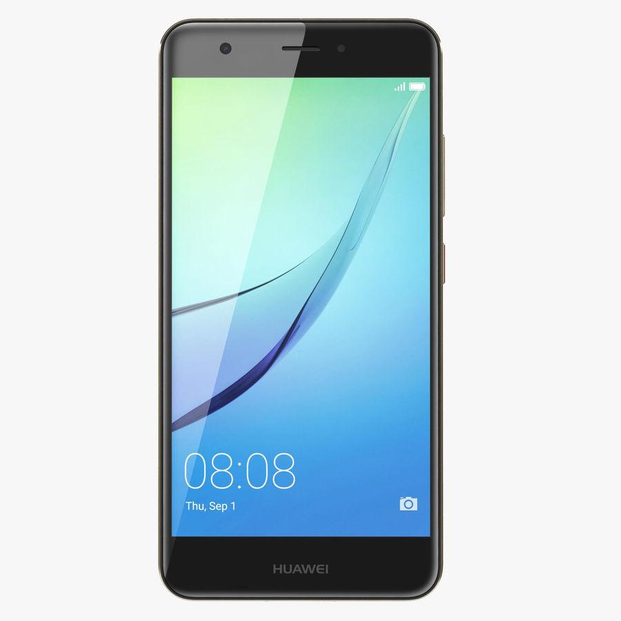 Huawei Nova Prestige Gold royalty-free 3d model - Preview no. 1