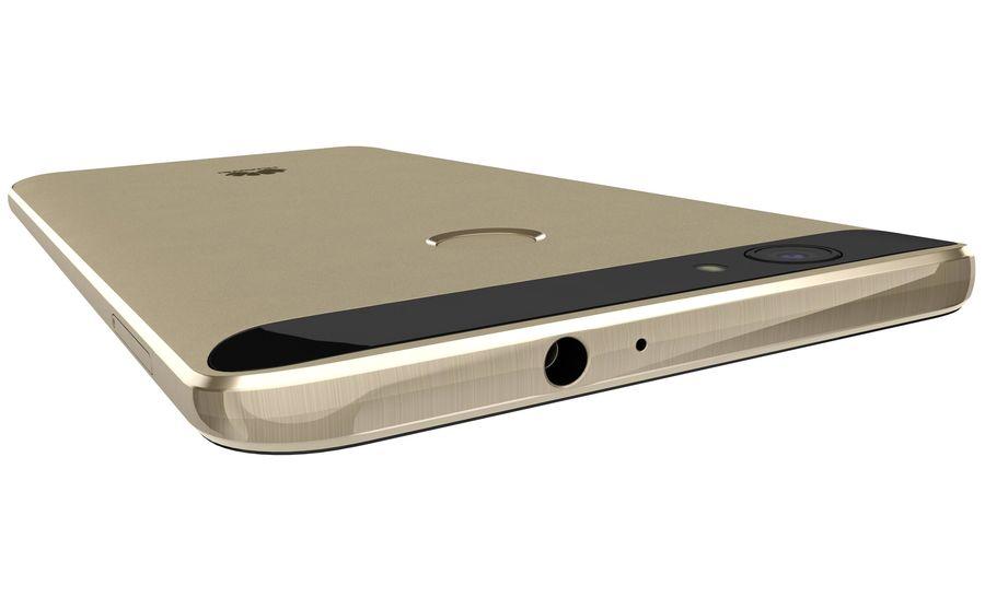 Huawei Nova Prestige Gold royalty-free 3d model - Preview no. 22