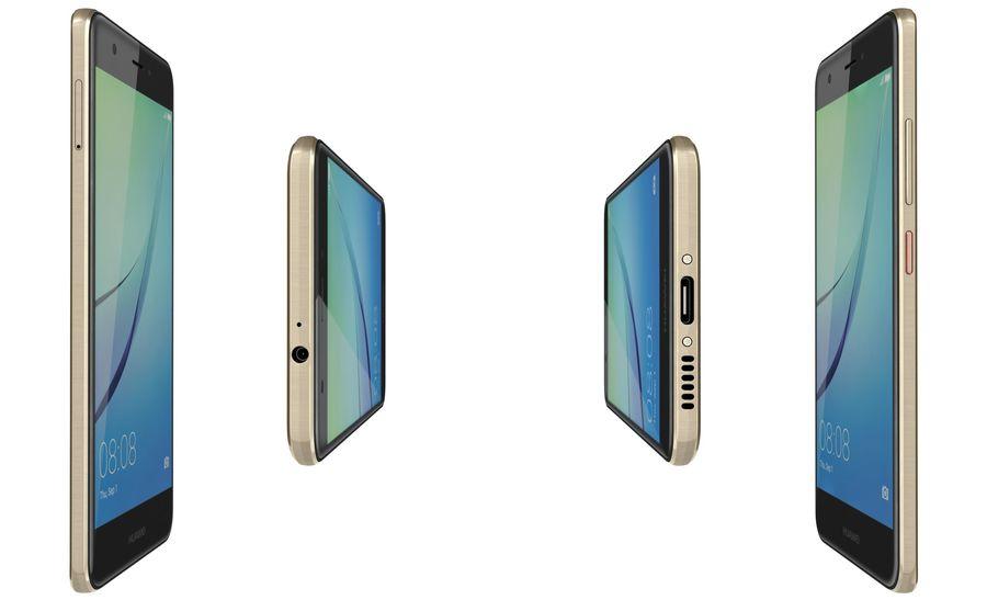 Huawei Nova Prestige Gold royalty-free 3d model - Preview no. 12