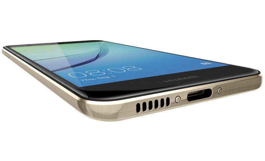 Huawei Nova Prestige Gold royalty-free 3d model - Preview no. 19