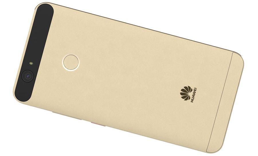 Huawei Nova Prestige Gold royalty-free 3d model - Preview no. 14