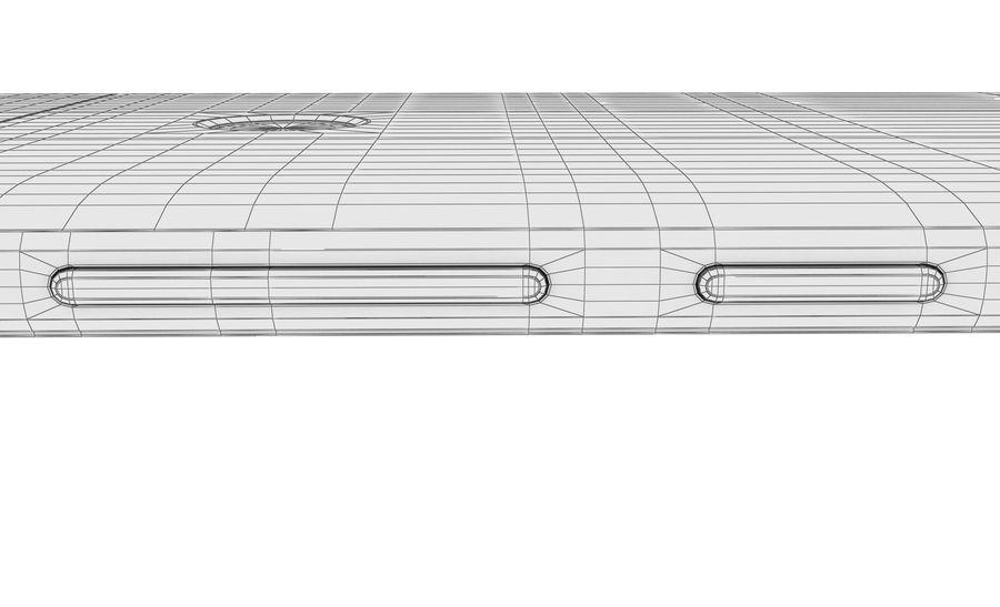 Huawei Nova Prestige Gold royalty-free 3d model - Preview no. 33