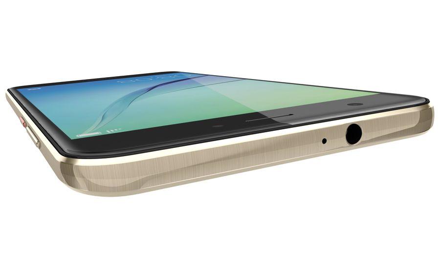Huawei Nova Prestige Gold royalty-free 3d model - Preview no. 21