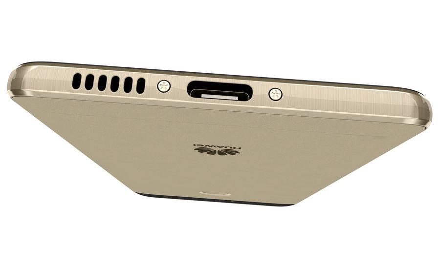 Huawei Nova Prestige Gold royalty-free 3d model - Preview no. 18