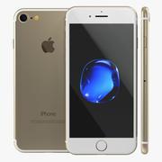IPhone 7 Gold 3D Model 3d model