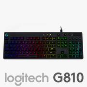 Logitech G810 Orion Spectrum 3d model
