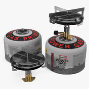 Camping Gas Stove 3D 모델 3d model