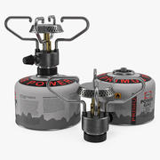 Portable Camping Gas Stove 3D 모델 3d model