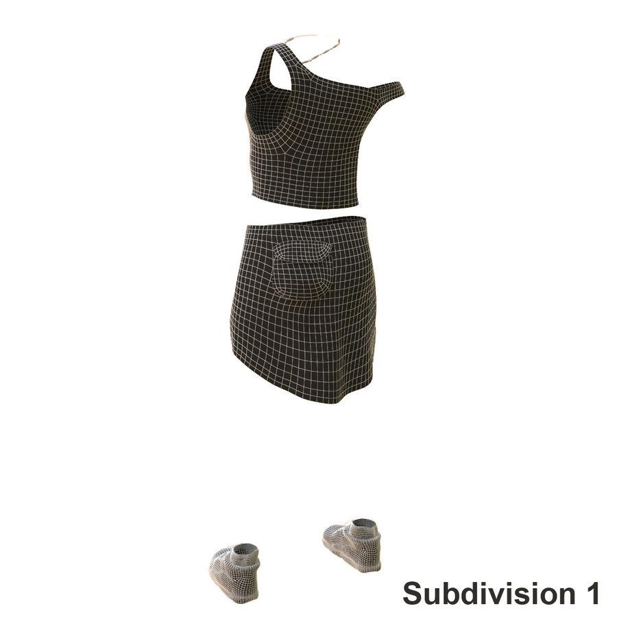 Gündelik Kıyafetler 2 royalty-free 3d model - Preview no. 21