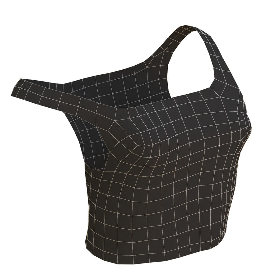 Gündelik Kıyafetler 2 royalty-free 3d model - Preview no. 25