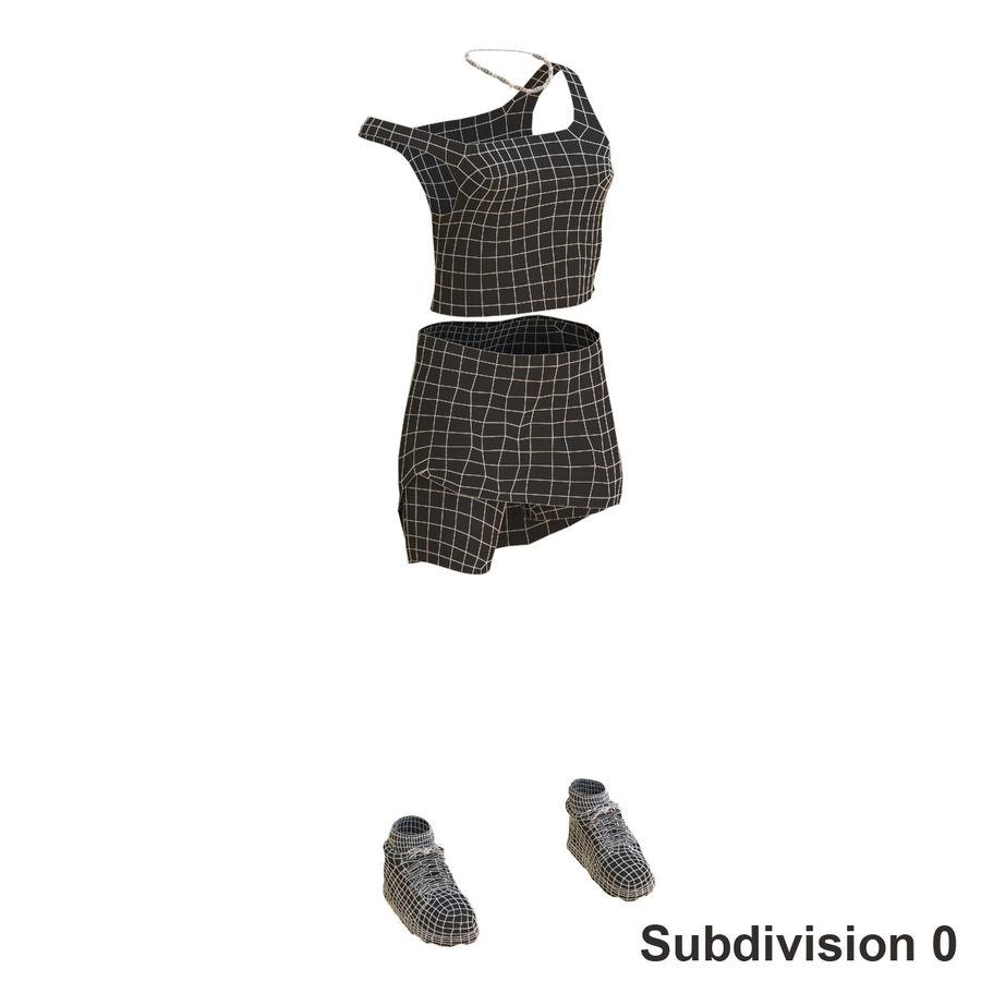 Gündelik Kıyafetler 2 royalty-free 3d model - Preview no. 18