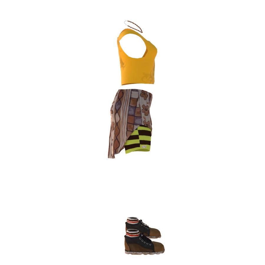 Gündelik Kıyafetler 2 royalty-free 3d model - Preview no. 6