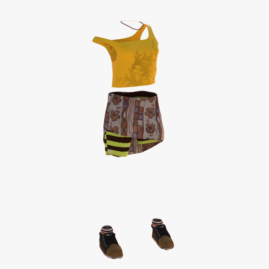Gündelik Kıyafetler 2 royalty-free 3d model - Preview no. 1