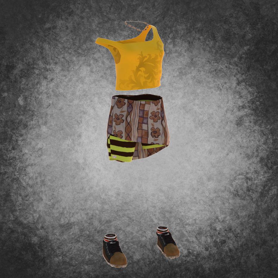 Gündelik Kıyafetler 2 royalty-free 3d model - Preview no. 2