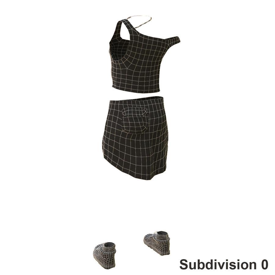 Gündelik Kıyafetler 2 royalty-free 3d model - Preview no. 20