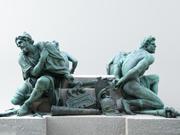 Four Captives - Louvre 3d model