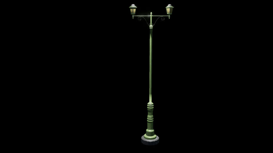 Street Assets royalty-free 3d model - Preview no. 5