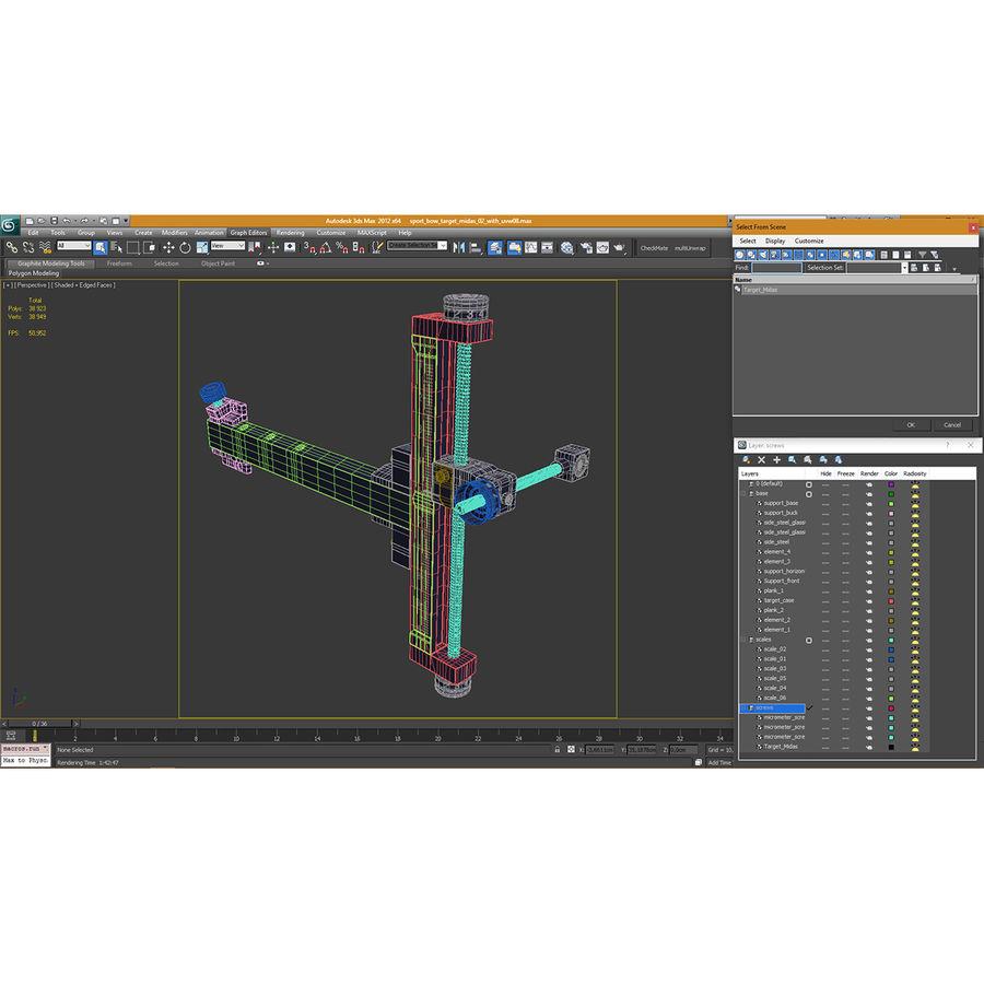 Avcı hedef görme royalty-free 3d model - Preview no. 19