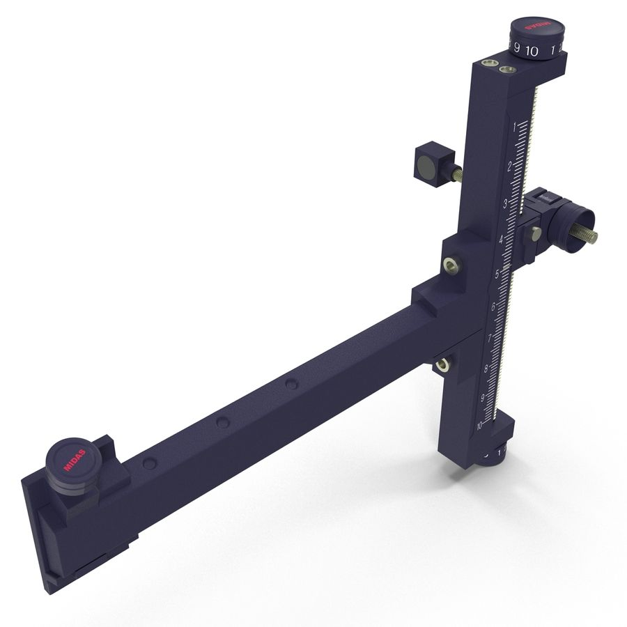 Avcı hedef görme royalty-free 3d model - Preview no. 7