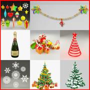 Christmas Collection V3 3d model