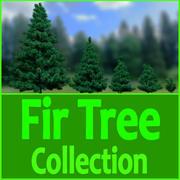Fir Tree Collection 3d model