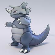 Rhydon Pokemon 3d model