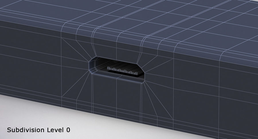 Amazon Fire TV Stick and Remote royalty-free 3d model - Preview no. 15