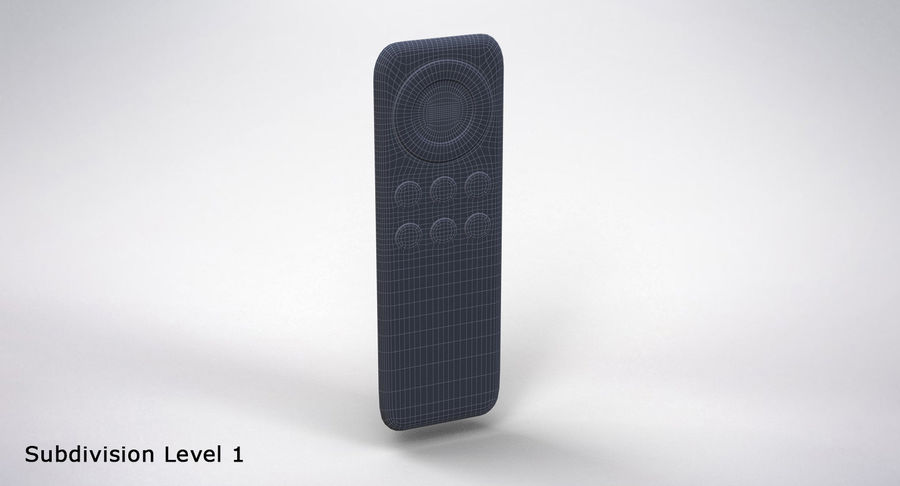 Amazon Fire TV Stick and Remote royalty-free 3d model - Preview no. 24