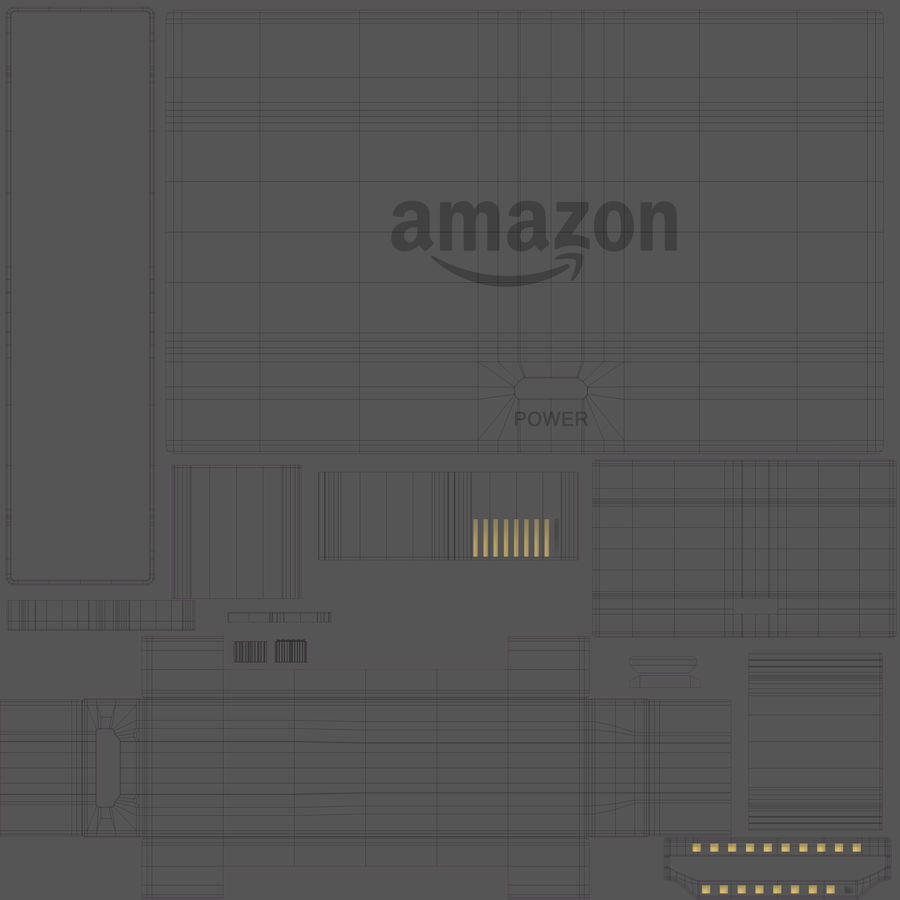 Amazon Fire TV Stick and Remote royalty-free 3d model - Preview no. 33