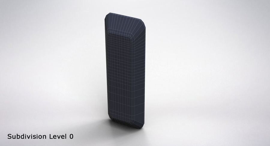 Amazon Fire TV Stick and Remote royalty-free 3d model - Preview no. 25
