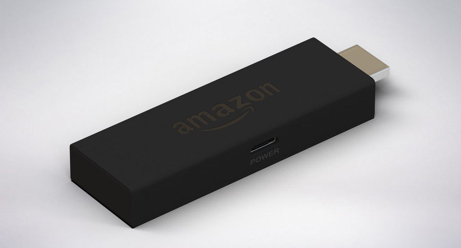 Amazon Fire TV Stick and Remote royalty-free 3d model - Preview no. 6