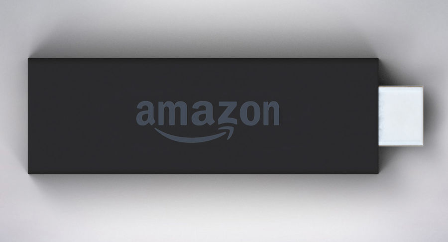 Amazon Fire TV Stick and Remote royalty-free 3d model - Preview no. 7