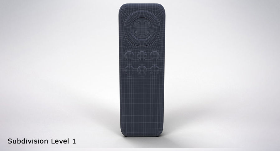 Amazon Fire TV Stick and Remote royalty-free 3d model - Preview no. 30