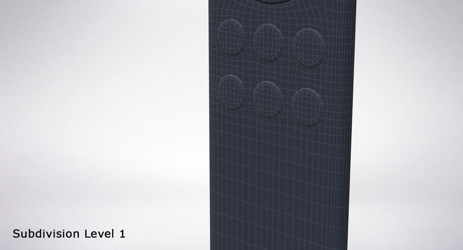 Amazon Fire TV Stick and Remote royalty-free 3d model - Preview no. 28