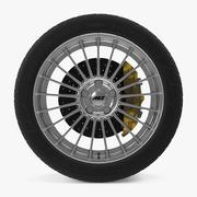 AEZ Valencia Disk Car Wheel 3d model