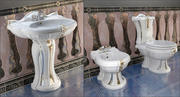 Lavabo WC Ceramica Ala New Lord 3d model