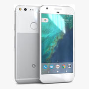 Google Pixel Very Silver 3d model