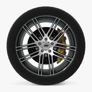 AEZ Cliff暗盘车轮 3d model