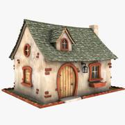 Maison Toon 1 3d model