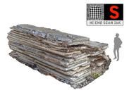Concrete Slabs 16K UHD 3d model
